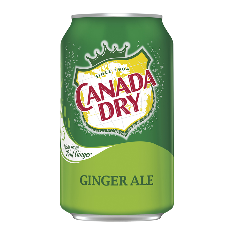 Canada Dry Ginger Ale 12fl.oz (355ml) - Old Town Sweet Shop