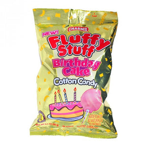 Fluffy Stuff Birthday Cake Cotton Candy 2.1oz - Old Town Sweet Shop