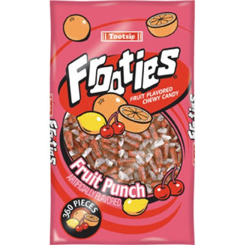 Tootsie Frooties  Fruit Punch 360Pc Bag 38.8oz (1.1kg) - Old Town Sweet Shop