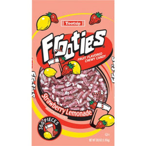 Tootsie Frooties Strawberry Lemonade 360Pc Bag 38.8oz (1.1kg) - Old Town Sweet Shop