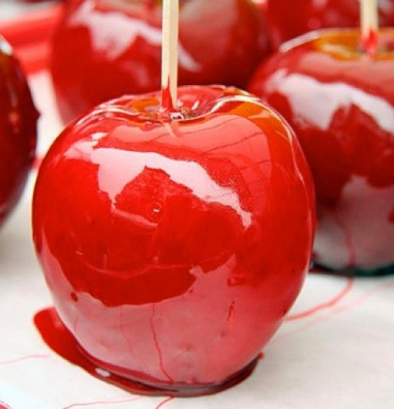 Freshly Made Toffee Apples To Order - Old Town Sweet Shop
