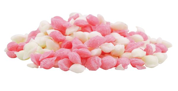 Pink & White Pips - Old Town Sweet Shop