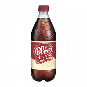 Dr Pepper & Cream Soda 20oz (591ml)