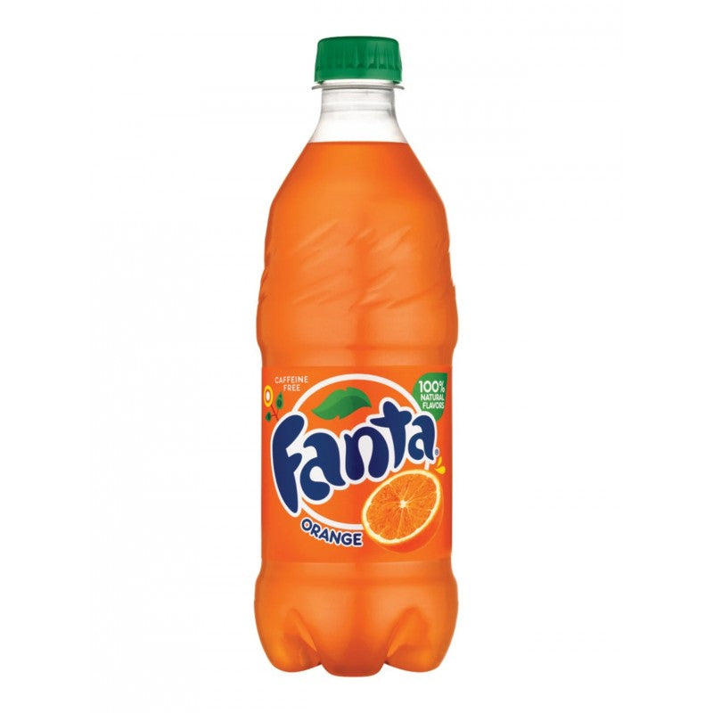 Fanta Orange US 20oz (591ml)