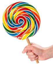Load image into Gallery viewer, Extra Large Whirly Pop Rock Lollipop 17cm - Old Town Sweet Shop