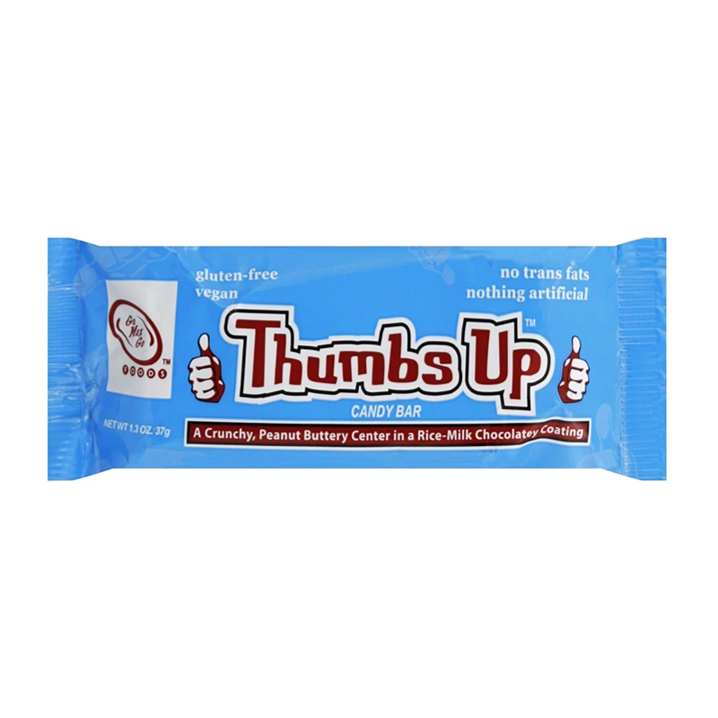 Go Max Go Thumbs Up™ Vegan Candy Bar - 1.3oz (37g) - Old Town Sweet Shop