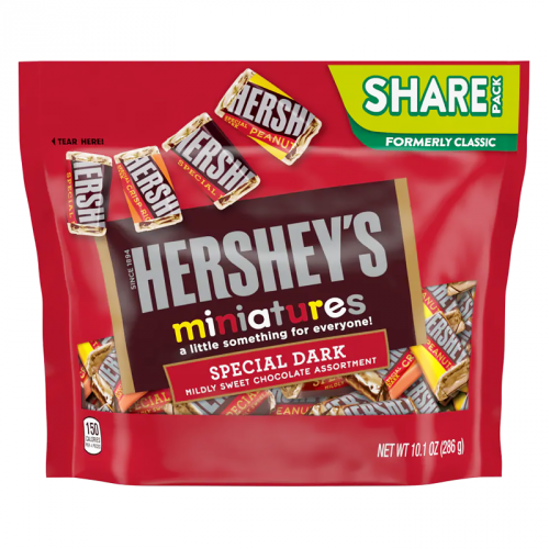 Hershey's Special Dark Miniatures Assortment 10.1oz (286g) - Old Town Sweet Shop
