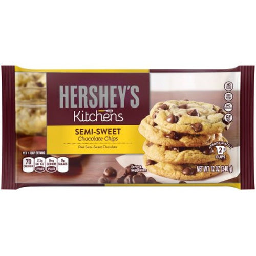 Hershey's Semi Sweet Chocolate Chips 12oz (340g) - Old Town Sweet Shop