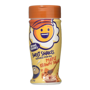 Kernel Season's Tasty Shakes Oatmeal Mix-Ins - Maple Brown Sugar - 3oz (85g) - Old Town Sweet Shop