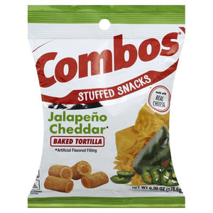 Combos Jalapeno Cheddar Tortilla Crackers 6.3oz - Old Town Sweet Shop