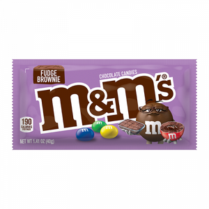 M&M Fudge Brownie Candy 1.41oz (40g) - Old Town Sweet Shop