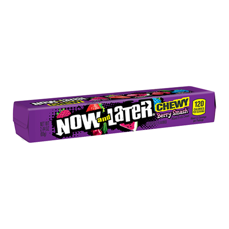 Now & Later Chewy Berry Smash - 2.44oz (69g) - Old Town Sweet Shop