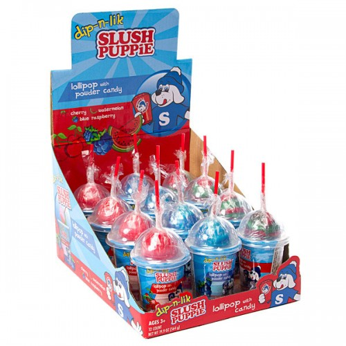 Slush Puppie Dip n Lik - Old Town Sweet Shop