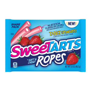 SweeTarts Ropes Tangy Strawberry 3.5oz (99g) - Old Town Sweet Shop