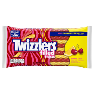 Twizzlers Sweet & Sour Filled Twists - 11oz (311g) - Old Town Sweet Shop