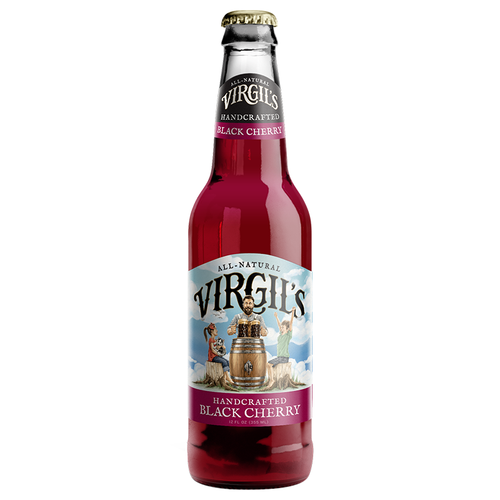Virgil's Handcrafted Black Cherry Soda - 12fl.oz (355ml) - Old Town Sweet Shop