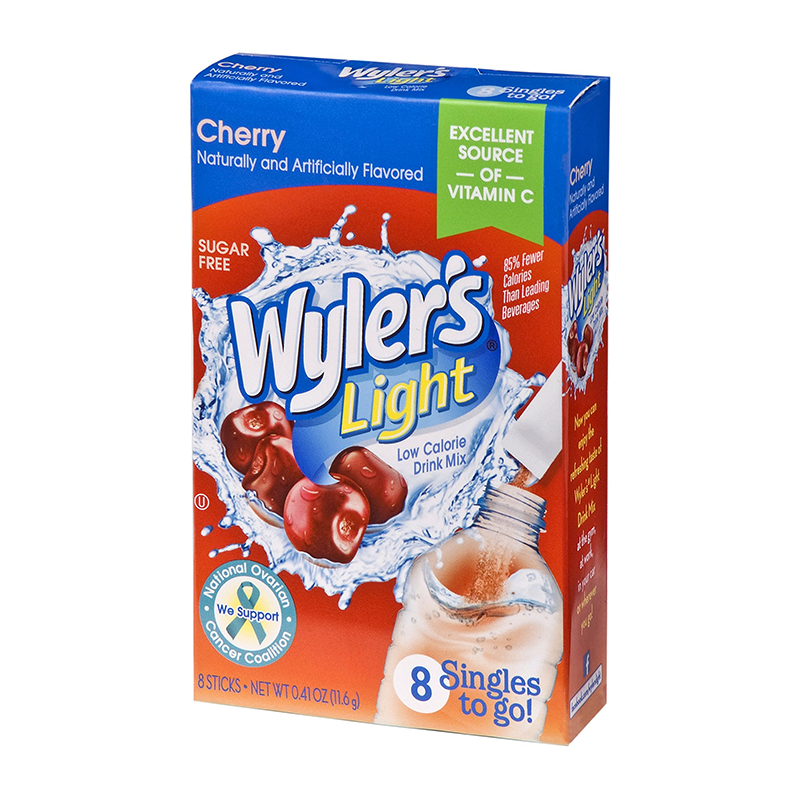 Wyler's Light Singles To Go Cherry 8-Pack - 0.41oz (11.6g) - Old Town Sweet Shop