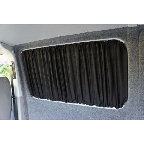 Trafic / Vivaro 2014+ Curtain Kit - Left Back SWB (Blackout) Kiravans