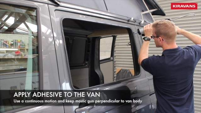 Left (only) Barn door windows (privacy) for VW T5 / T6