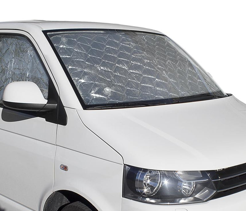 VW T5 Cab Internal Silver Screens - Climat NT Brunner
