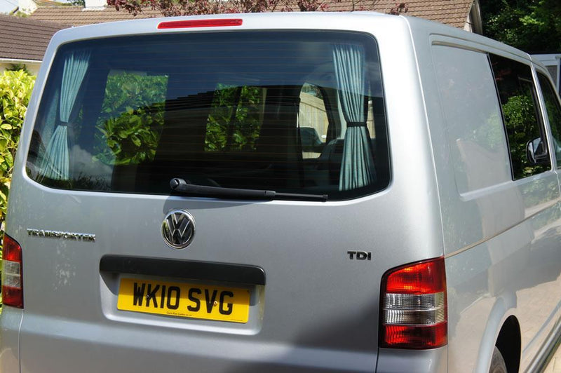 VW T5/T6 Curtain Kit - Rear Doors (Blackout)