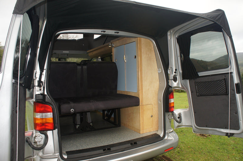 Kiravans Barn Door Awning - VW T4 (with Spoilers)