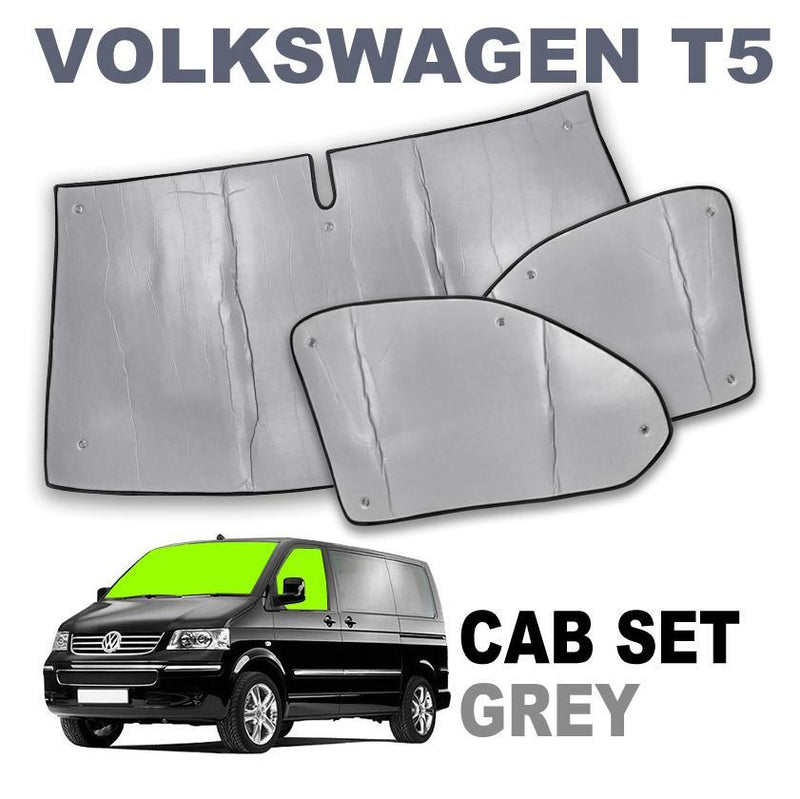 VW T5 Cab Internal Silver Screens - Climat NT Thermo Brunner