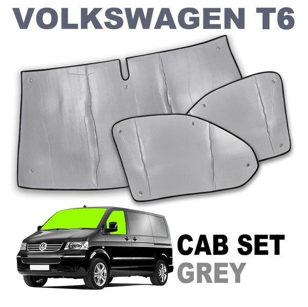 VW T6 Cab Internal Silver Screens - Climat NT Thermo Brunner