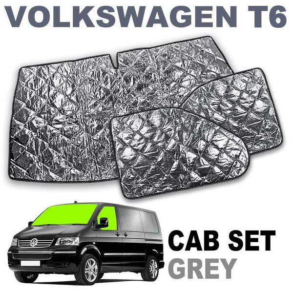 VW T6 Cab Internal Silver Screens - Climat NT Brunner