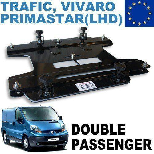 Vivaro / Trafic Double Seat Swivel (Left Hand Drive European Vans)