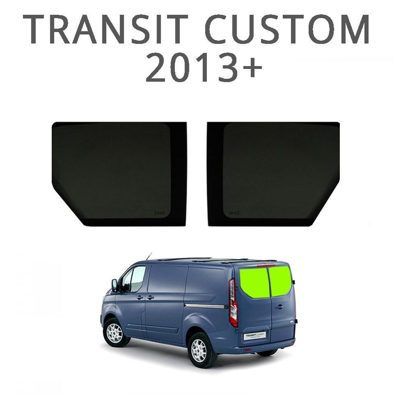 Barn Door Windows (Privacy) For Transit Custom 2013+