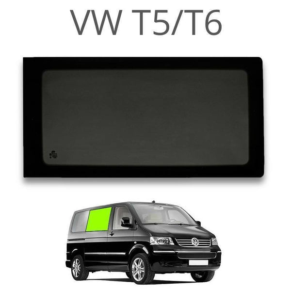 Right Fixed Window (Privacy) For VW T5 / T6 - Sliding Door