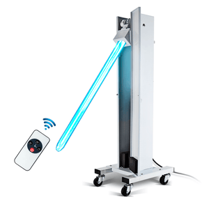 150W UV-C Lamp with remote control and timer. - MrSterilizer