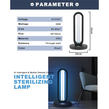 Load image into Gallery viewer, 38W UV-C Lamp - With Remote control and Timer. - MrSterilizer
