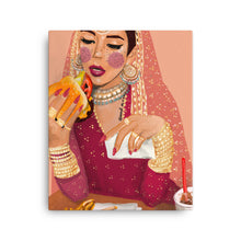 Load image into Gallery viewer, Foodie Bride - Canvas