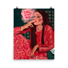 Load image into Gallery viewer, Bollywood Smoker in Red - Print