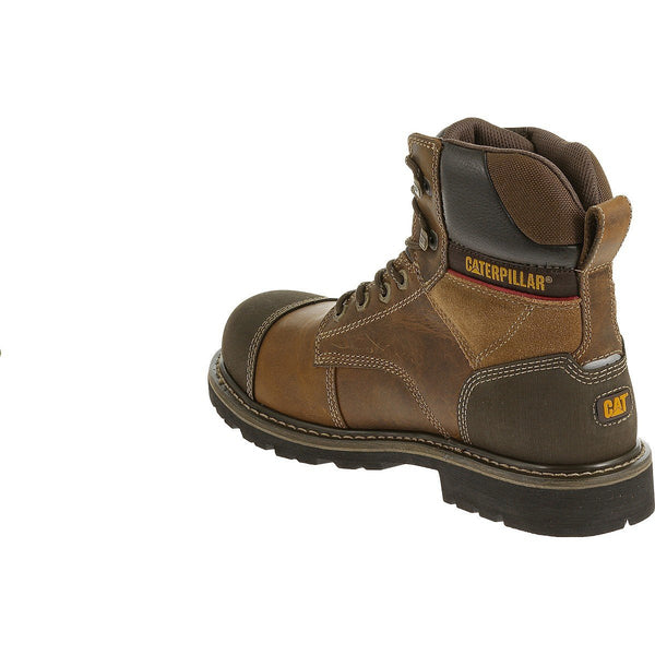 "Traction 6"" Steel Toe Work Boot"
