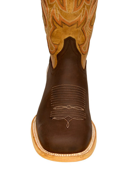 Women's Pathe Cowgirl Western Leather Boots REDHAWK 6204