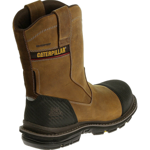 Fabricate Pull On Tough Waterproof Composite Toe Work Boot