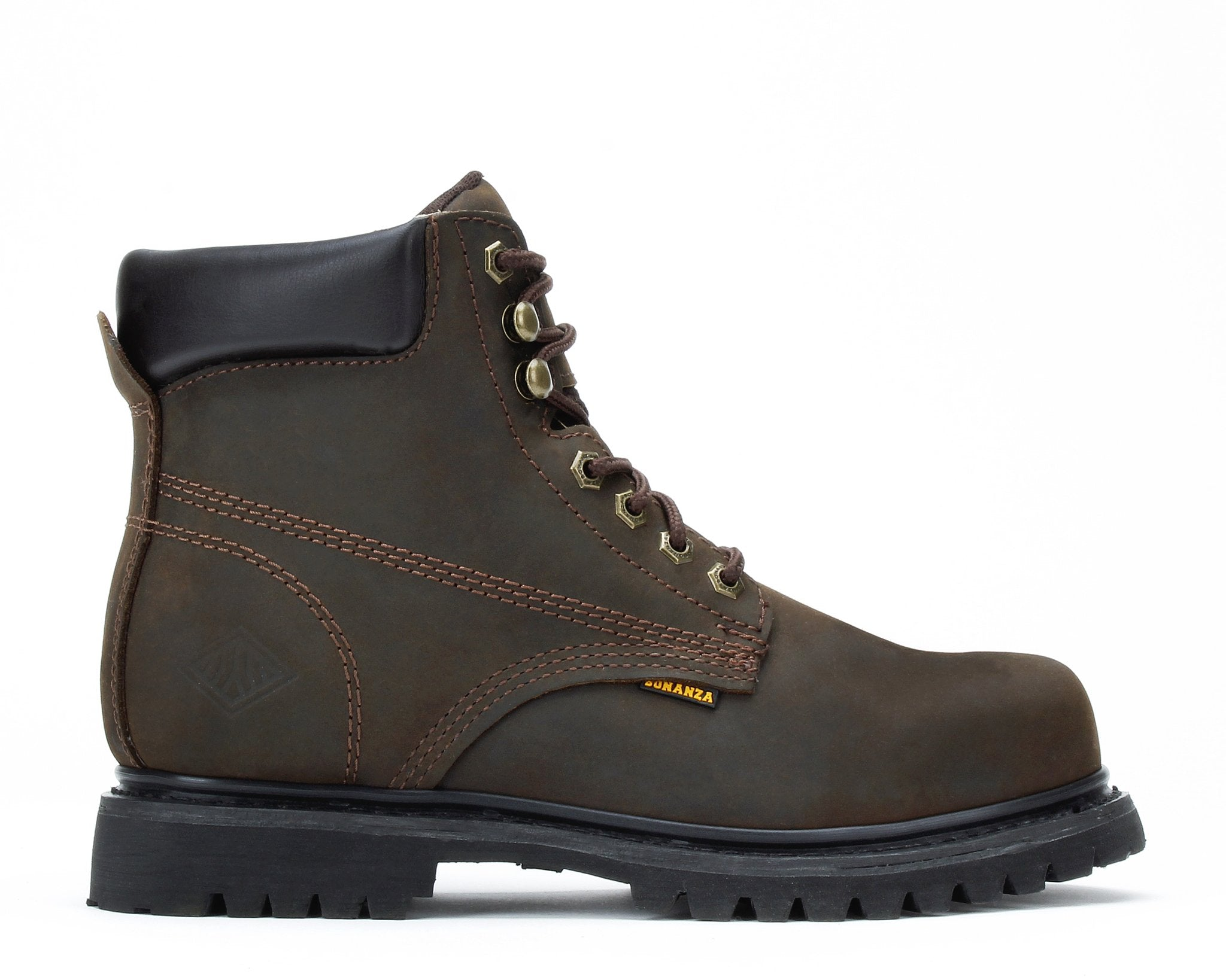 WOODLAND | Round Toe 6-Inch Lug Sole Boot with Steel Toe