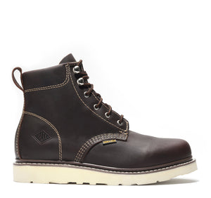 "JOURNEY | 6"" Wedge Work Boot (Soft Toe)"