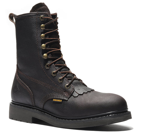 "BOONDOCKS 8"" Lacer Work Boots (Soft Toe)"
