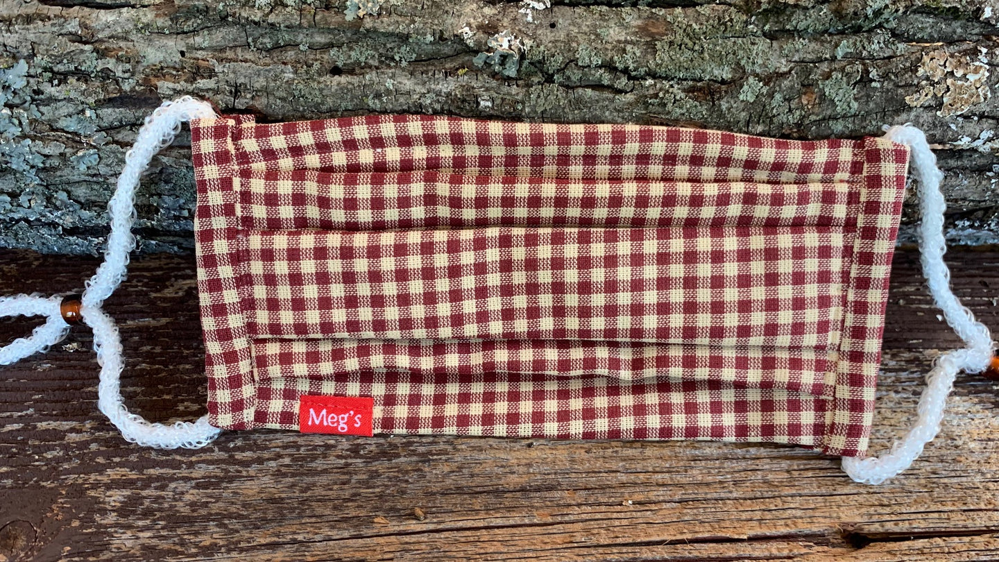 Meg's Masks, Face mask, Responsible, Fashionable, Comfortable, Washable, Reusable, Quality, COVID-19 Prevention, Allergy, Hey fever, new accessory, trendy, best mask, coolest mask, top rated mask, highest quality masks, most comfortable mask, adjustable, 3 layer face mask, Made in USA, Handmade by Meg