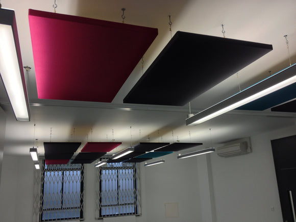 Office Acoustic Panels - Ceiling Suspended