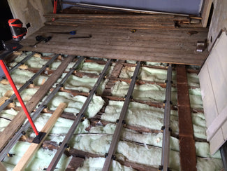SoundSense Resilient Bar Floor Soundproofing System