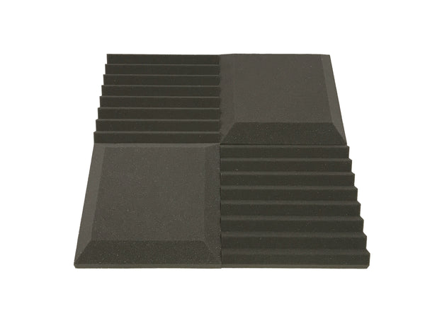 "Euphonic Wedge Standard 12"" Acoustic Studio Foam Tile Pack - Advanced Acoustics"