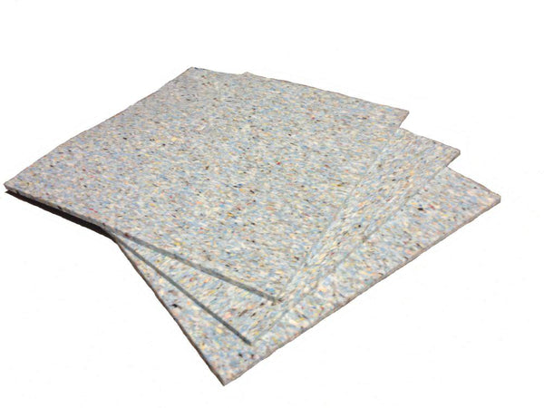 Acoustic Underlay Tile - 600mm by 600mm by 11mm sheets - Advanced Acoustics