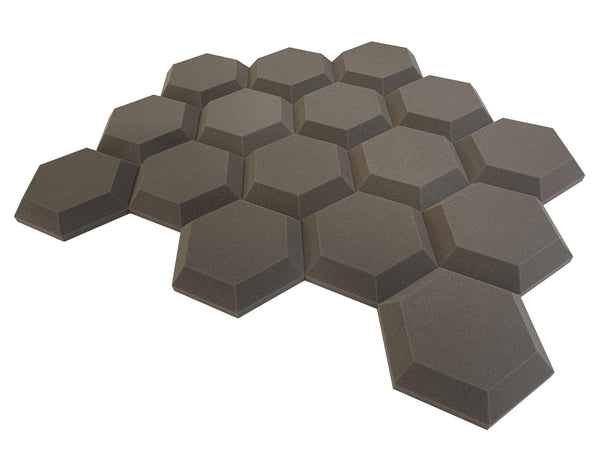 "Baby HexaTile 12"" Hexagon Acoustic Studio Foam Tile Pack"