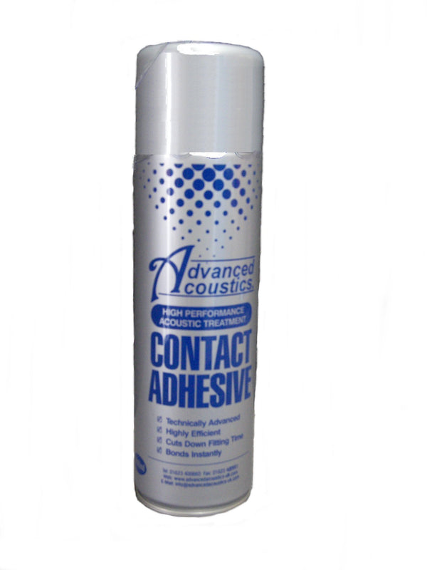 Specially Formulated Contact Adhesive - Carton of 12 Cans - Advanced Acoustics