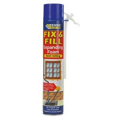 Everbuild Fix & Fill Expanding Foam - 750ml Beige